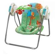 FISHER PRICE OPEN-TOP-TAKEALONG-SWING