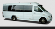 Airport Transfers Minibus With Advance Tracking System Warrington